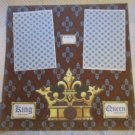 """King Queen For A Day 2a""-Premade Scrapbook Page 12x12"