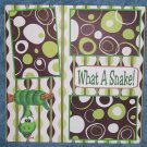 """What A Snake a""-Premade Scrapbook Page 12x12"