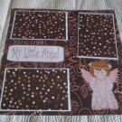 """""""My Little Angel Girl""""-Premade Scrapbook Page 12x12"""