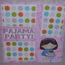 """Pajama Party Girl cs""-Premade Scrapbook Page 12x12"