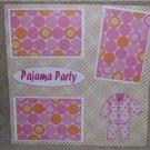 """Pajama Party""-Premade Scrapbook Page 12x12"