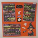 """""""Halloween Party Witch s1""""-Premade Scrapbook Page 12x12"""