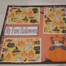 """My First Halloween Cat""-Premade Scrapbook Page 12x12"