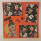 """Scary Costume s1""-Premade Scrapbook Page 12x12"