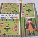 """Wicked Witch""-Premade Scrapbook Page 12x12"