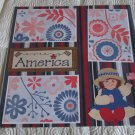 """America""-Premade Scrapbook Page 12x12"