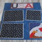 """USA Eagle""-Premade Scrapbook Page 12x12"