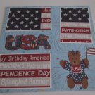"""USA""-Premade Scrapbook Page 12x12"