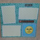 """""""Delight In The Little Things st""""-Premade Scrapbook Page 12x12"""