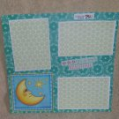 """Life Is Truly Beautiful st""-Premade Scrapbook Page 12x12"