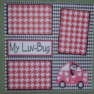 """My Luv Bug 2""-Premade Scrapbook Page 12x12"