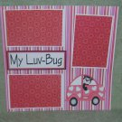 """My Luv Bug""-Premade Scrapbook Page 12x12"