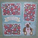 """You're So Beary Cute b""-Premade Scrapbook Page 12x12"