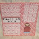 """Class of 2013 girl""-Premade Scrapbook Page 12x12"