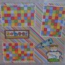 """""""School Boy""""-Premade Scrapbook Page 12x12"""