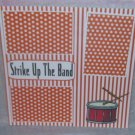 """Strike Up The Band""-Premade Scrapbook Page 12x12"