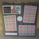 """Welcome To Kindergarten t""-Premade Scrapbook Page 12x12"