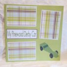 """My Pinewood Derby Car a""-Premade Scrapbook Page 12x12"