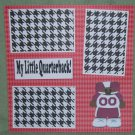 """My Little Quarterback""-Premade Scrapbook Page 12x12"