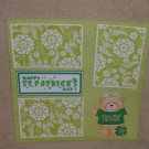 """Happy St Patrick's Day cs""-Premade Scrapbook Page 12x12"