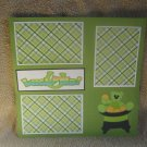 """""""Lucky Me""""-Premade Scrapbook Page 12x12"""