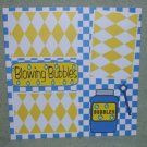 """""""Blowing Bubbles""""-Premade Scrapbook Page 12x12"""