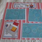 """Under The Big Top a""-Premade Scrapbook Page 12x12"