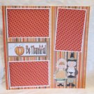 """""""Be Thankful Family""""-Premade Scrapbook Page 12x12"""