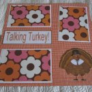 """Talking Turkey""-Premade Scrapbook Page 12x12"