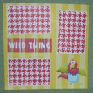 """Wild Thing nw""-Premade Scrapbook Page 12x12"