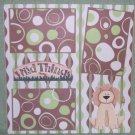 """Wild Thing 2""-Premade Scrapbook Page 12x12"
