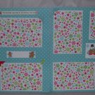 """""""The Stockings Were Hung dbl""""-Premade Scrapbook Pages 12x12-Double Page Layout"""