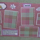 """""""Leo dbl""""-Premade Scrapbook Pages 12x12-Double Page Layout"""