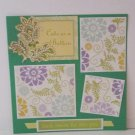"""Cute As A Button Girl""-Premade Scrapbook Page -8x8 Layout"