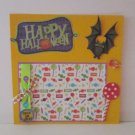 """Happy Halloween Bat""-Premade Scrapbook Page -8x8 Layout"