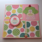 """""""Have Your Cupcake""""-Premade Scrapbook Page -8x8 Layout"""