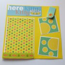 """Here Kitty Kitty""-Premade Scrapbook Page -8x8 Layout"