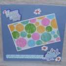 """Horton Hears A Who""-Premade Scrapbook Page -8x8 Layout"