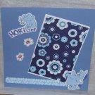 """Horton""-Premade Scrapbook Page -8x8 Layout"
