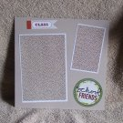"""School Friends a""-Premade Scrapbook Page -8x8 Layout"
