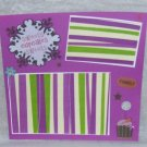 """""""Sweet Cupcakes""""-Premade Scrapbook Page -8x8 Layout"""