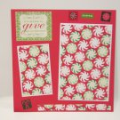 """Christmas Gifts""-Premade Scrapbook Page -8x8 Layout"
