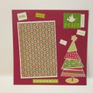 """""""Christmas Noel""""-Premade Scrapbook Page -8x8 Layout"""