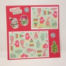 """Jingle Bells""-Premade Scrapbook Page -8x8 Layout"