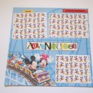 """Disney Adventure""-Premade Scrapbook Page 12x12"