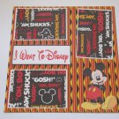 """""""I Went To Disney""""-Premade Scrapbook Page 12x12"""