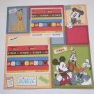 """Magic Adventure Mickey""-Premade Scrapbook Page 12x12"