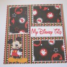 """My Disney Trip""-Premade Scrapbook Page 12x12"
