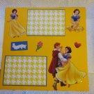 """Snow White 2a""-Premade Scrapbook Page 12x12"