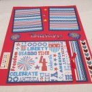 """""""All American Kid""""-Premade Scrapbook Page -8 1/2 x 11""""  Layout"""